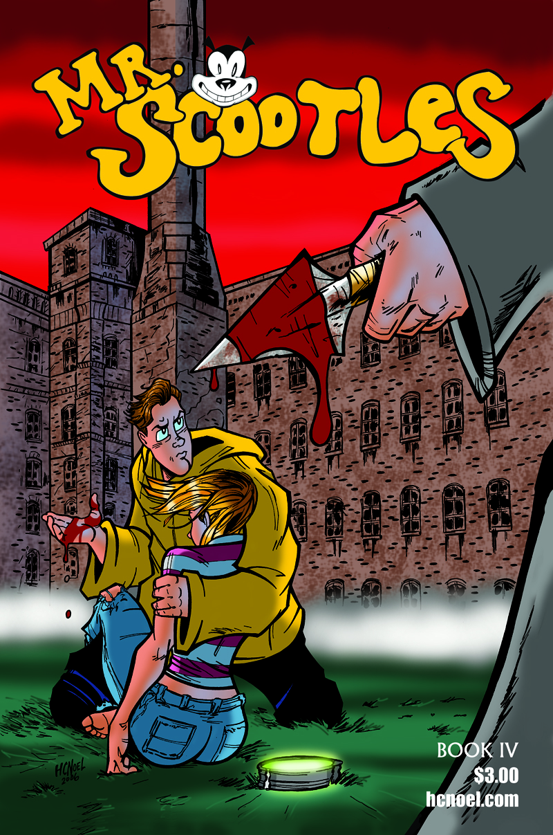 Mr. Scootles Issue 4 Cover