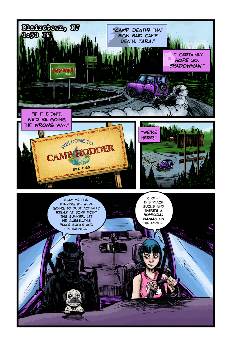 Tara Normal Issue 6 Page 002