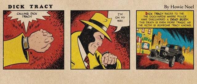 Dick Tracy Monday Daily Strip by Howie Noel