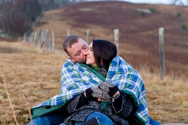 Engagement photography by Ellen Gwin.