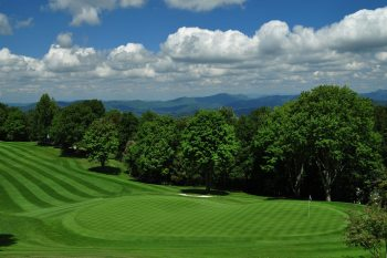#1 Green and Fairway at Beech Mountain Club