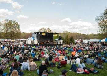 The Americana Stage provides a relaxed atmosphere for fans of the groove and rhythm of Americana music.