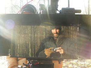"Bolejack snaps a self portrait through a reflection in a 3-D camera lens, season one of ""Hillbilly Blood."" Photos courtesy of Bolejack"