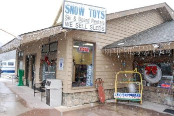 The new Snow Toys storefront at 40 High Country Square in Banner Elk.