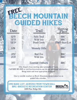 Winter Guided Hikes