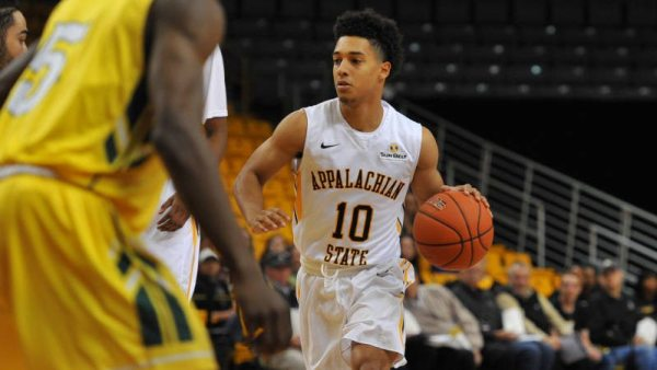 Patrick Good (above) scored a game-high 16 points in a record-breaking night for Appalachian State. Courtesy: Dave Mayo (Appalachian, '83)