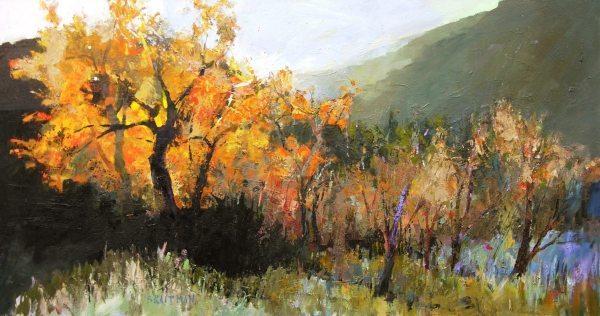 Andrew Braitman - STILL AND CLEAR - 38x72