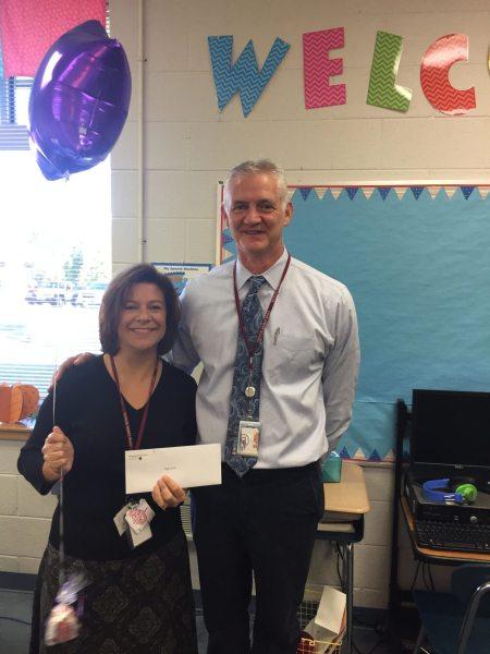 Angela Hicks of Cove Creek with Principal Cone