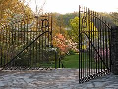 Daniel Boone Native Gardens entrance - Photo by Dr. Annkatrin Rose