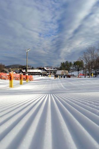 Peak conditions exist at Appalachian Ski Mtn. Photo by Drew Stanley