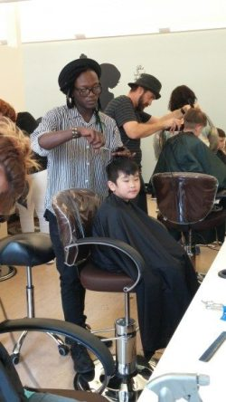 Back to school haircut