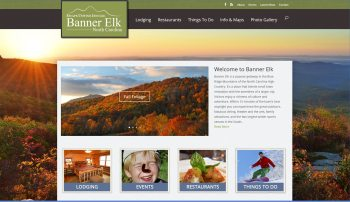 Banner Elk TDA/Banner Elk's new tourism website