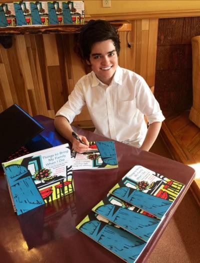 Bryce Palmyra - Book Signing