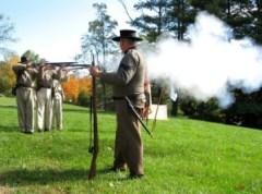 Civil War renactment