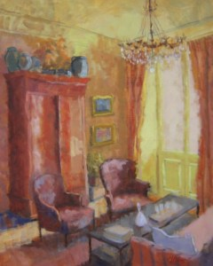 Connie Winters - Interior of House in Provence