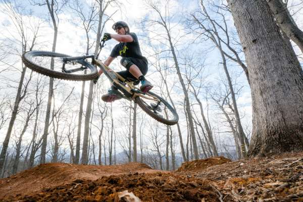 This Summer At The Rocky Knob Mountain Bike Park New Black Diamond Trail Planned High Country Press