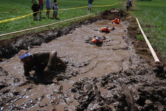 Just a little bit of mud
