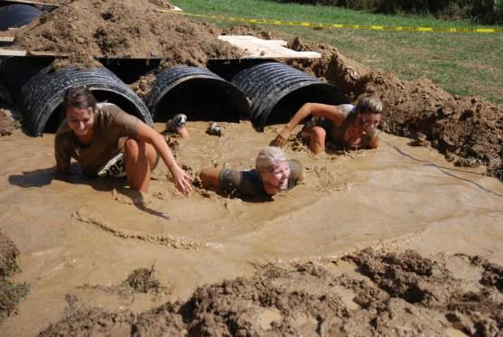 Mud crawl!