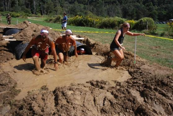 Crawling through the mud