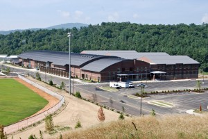 The new Watauga High School is a much safer facility than the old building. Photo by Peter Morris