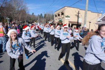 Blowing Rock Christmas Parade 2014. Photo by Ken Ketchie.
