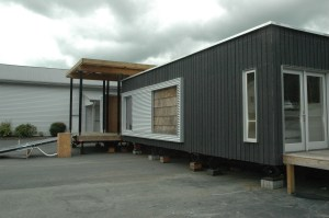 Appalachian State University's entry to the 2011 Solar Decathlon in Washington, D.C. Photo by Rebecca Mullins