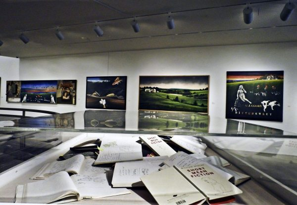 """An installation of """"Short Mean Fiction"""" at the Katzen Museum of Art in Washington, D.C. Photo by Carol Harrison."""