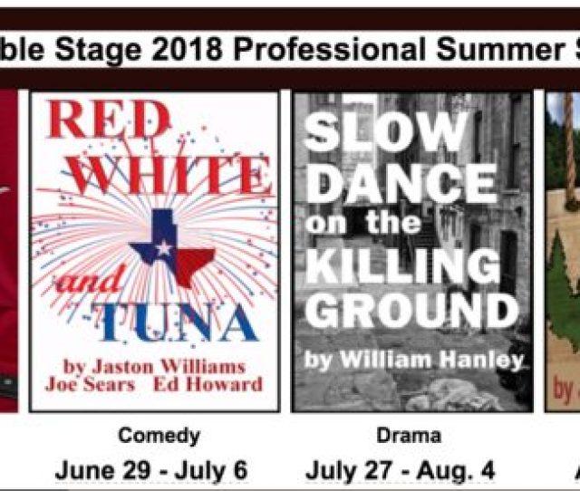 Ensemble Stage Announces 2018 Summer Show Schedule Summer Camp Dates