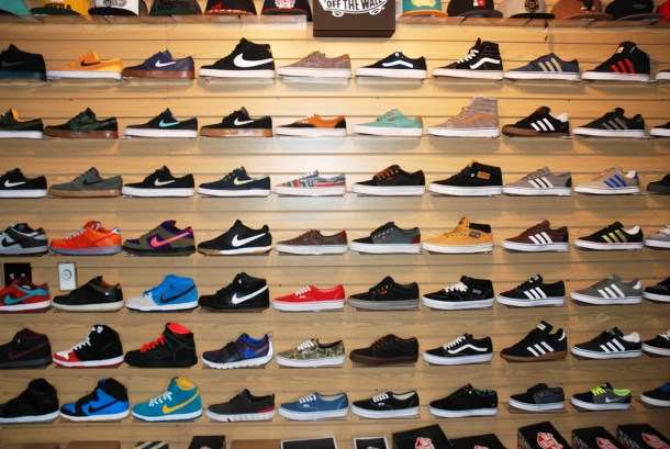 a great selection of footwear