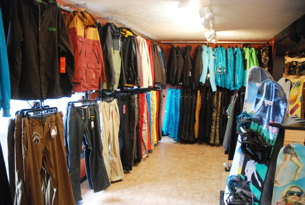 A huge selection of apparel too