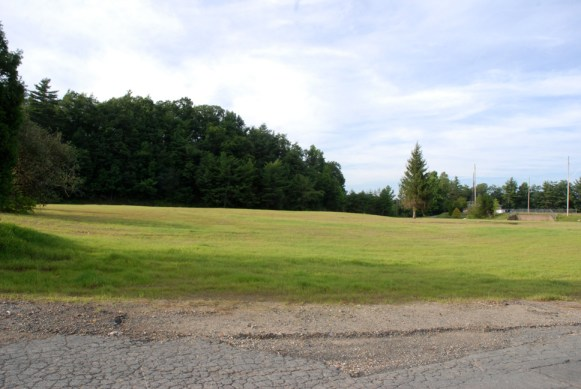 Grass now grows where the school once stood.