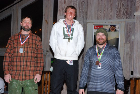 Top 3 individual snowboarders of SMARL 2013-14.