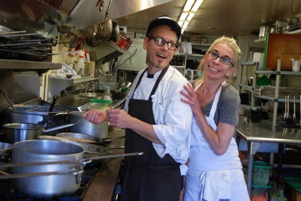 Owners of Gamekeeper Restaurant since 2000, Ken and Wendy Gordon make a good team. Photos by Ken Ketchie