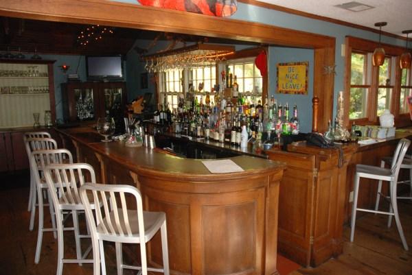 The Gamekeeper offers a full menu of wines and beers.