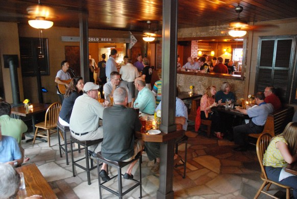 The Blowing Rock Ale House & Brewery opened last summer. Photo by Ken Ketchie