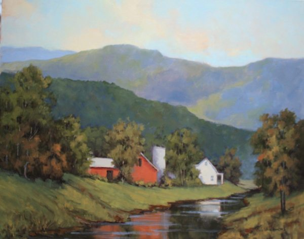 Grandfather Mountain Farm, 24x30