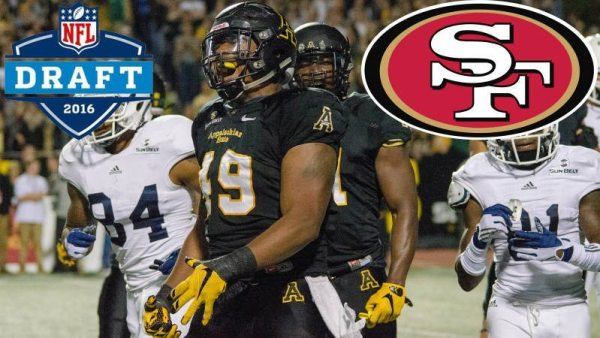 Ronald Blair is the 26th NFL Draft pick in Appalachian State history and the second former Mountaineer on the San Francisco 49ers' current roster. Courtesy: Allyson Lamb / App State Athletics