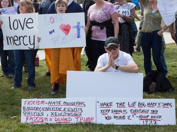 Donald Trump at Lenoir-Rhyne University in Hickory NC