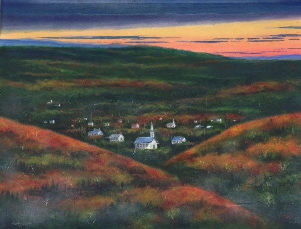 "William Dunlap, ""Valley View"""