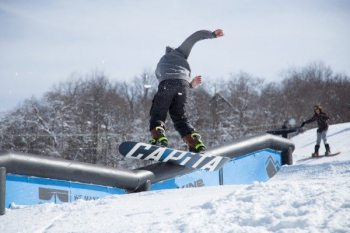 wRECklESS Rail Jam 2015. Photo by Sarah Weiffenbach.