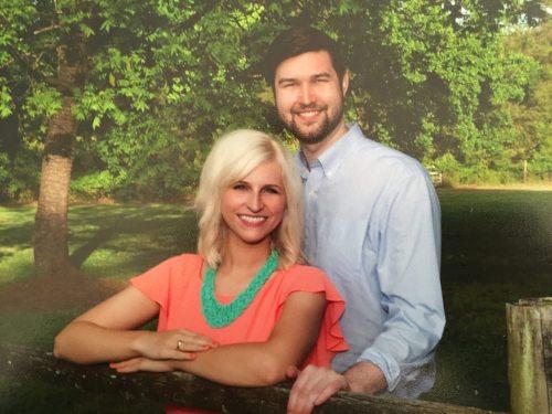 Amanda Osetek and Geoff Rights