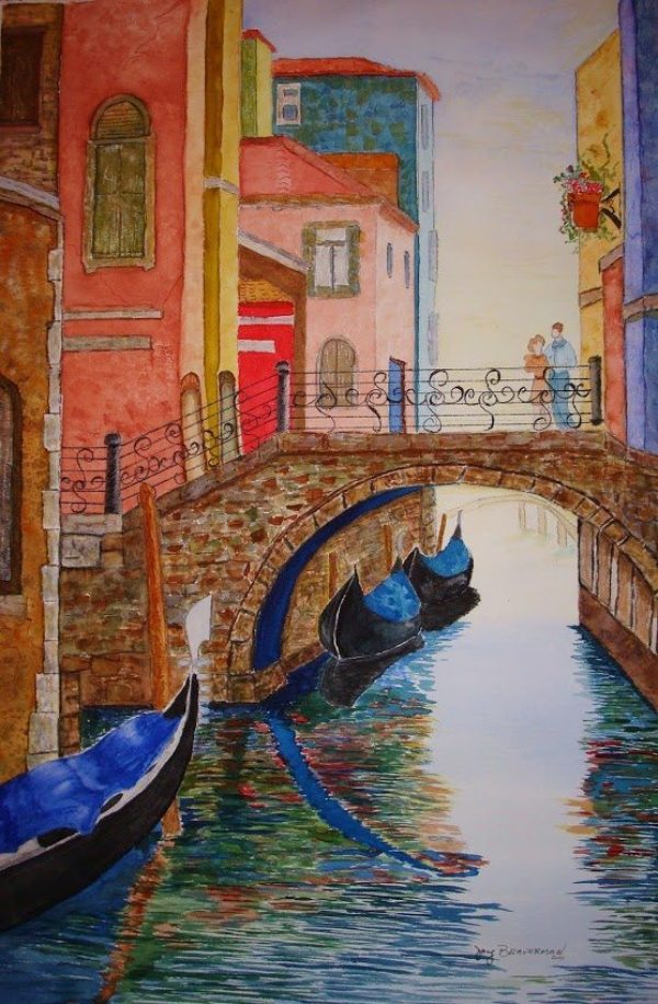 Joy Braverman - Venice Watercolor