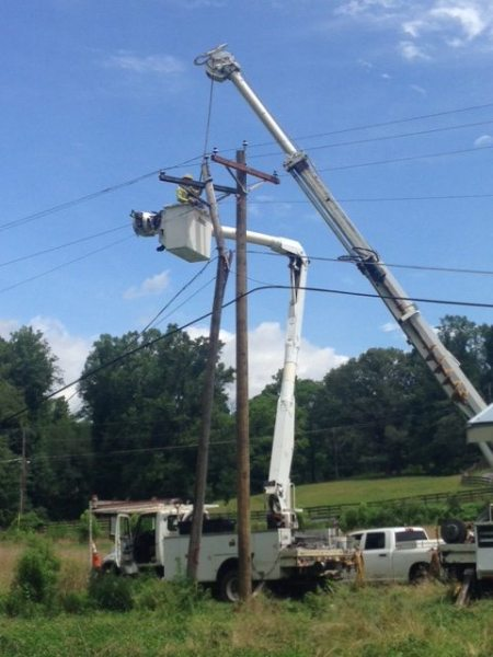 Linemen Working to Restore Final Power Outages
