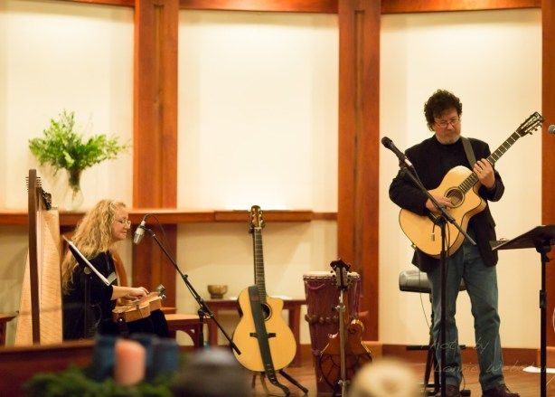 Al Petteway and Amy White Play the Mountain Home Music Show