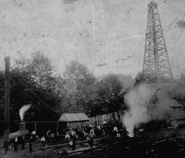NL Mast Oil Well