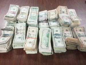 Osborne seizure money