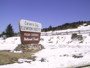 Roan Mountain at Carvers Gap - Photo by Randy Johnson