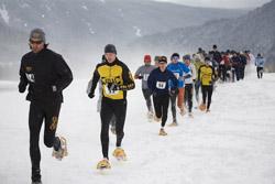 A Past Snowshoe Race