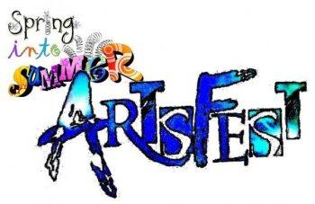 Spring into Summer ArtsFest logo