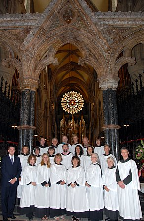St. Mary's choir